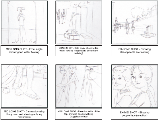 Draft a 'Well-Framed' Storyboard
